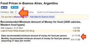 quanto vou gastar na viagem site compara custos numbeo 3