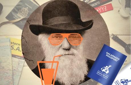 O que Darwin nos ensinou sobre viajar