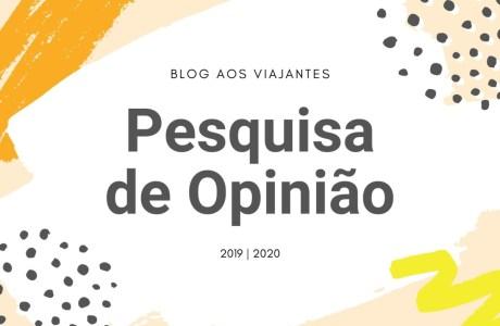 pesquisa-de-opinião-aos-viajantes-2019 Pesquisa de Opinião do Blog Aos Viajantes 2019