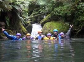 Cushat Creek, dernière vasque