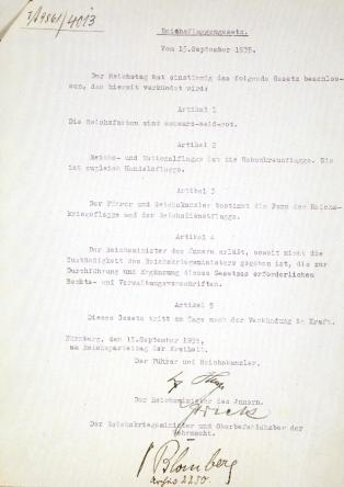 reichs-flag-law