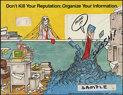 Don't kill your reputation; organize your information