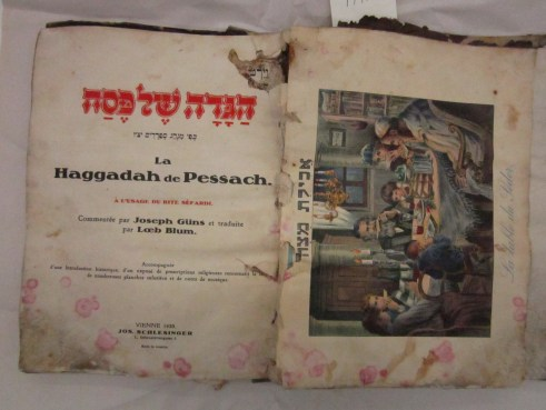 Before Treatment: Passover Haggadah from Vienna, 1930