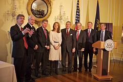 Kennedy Library Digital Archives Launch Team