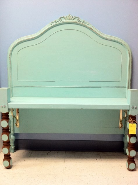 Photo Furniture Headboard Bench