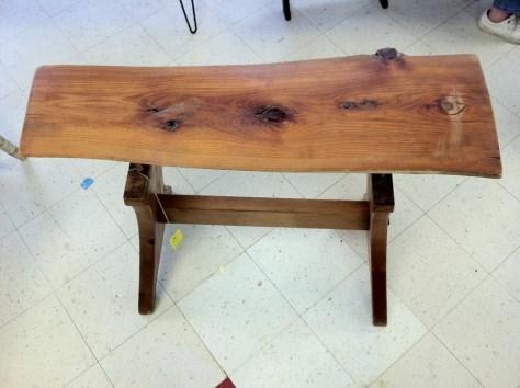 Photo Furniture Wood slab table