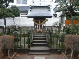 坂戸大安神社殿
