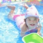 ビニールプールは日陰がいい?気温目安や何歳まで使用できる?