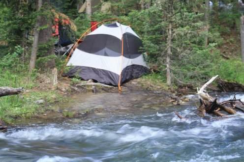 Free camping in Gardiner Montana