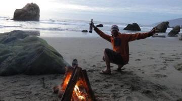 Free camping Malibu California