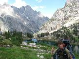 The hike out of grizzly lake was just as much fun as it was discovering such beauty for the first time.
