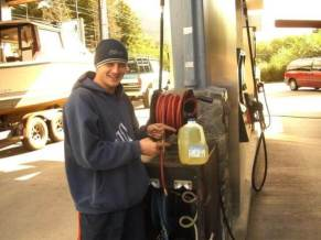 If you use truck stops to refuel your RV you may be left stranded in the middle of nowhere with no money because of bank holds. Truck stops can place a hold on your bank account for up to $500 if you don't know how to navigate these gas stations properly!
