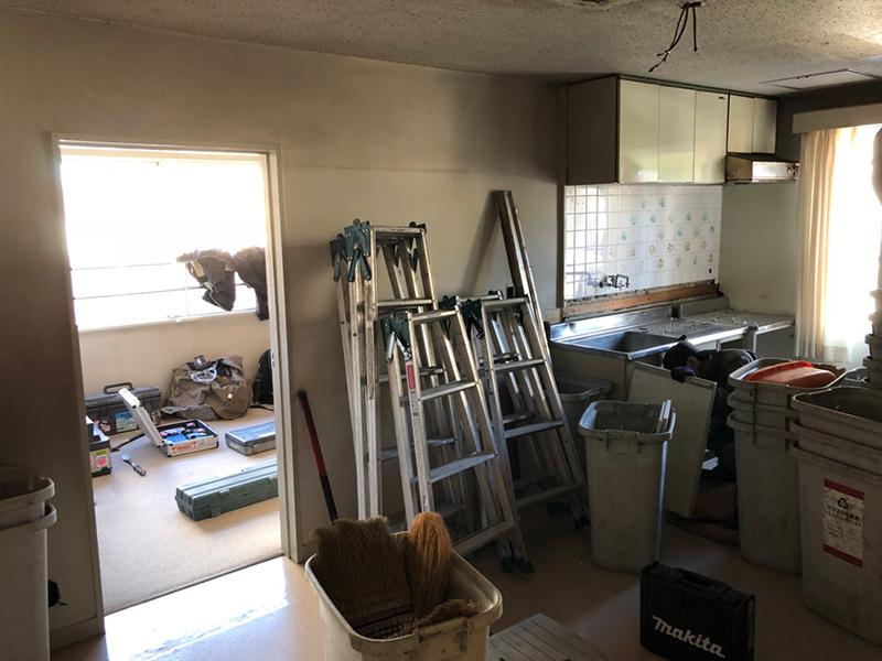 マンション内装解体-施工前2