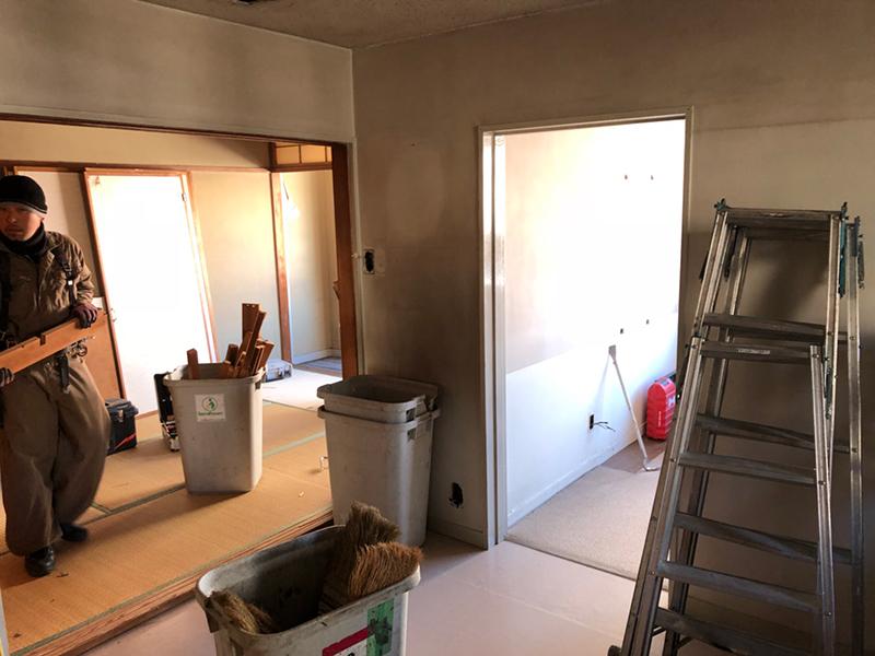 マンション内装解体-施工前1