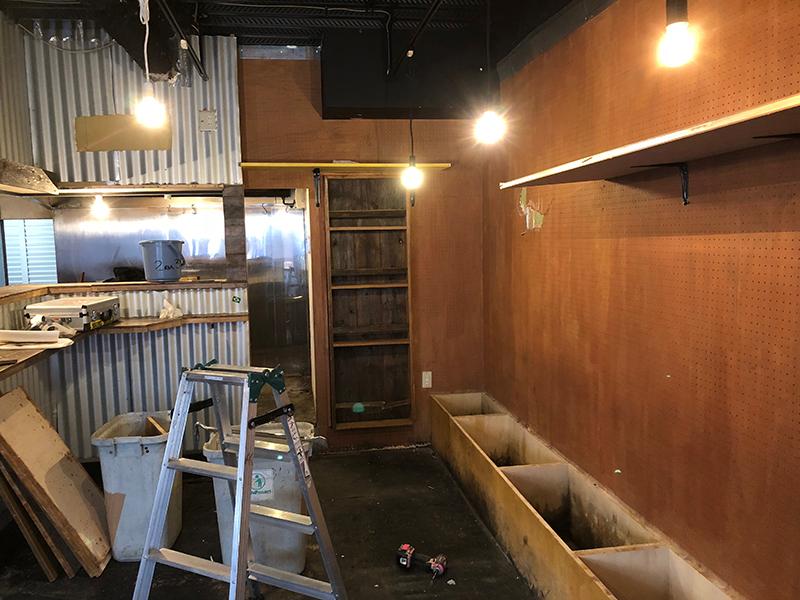 飲食店の解体-施工前1