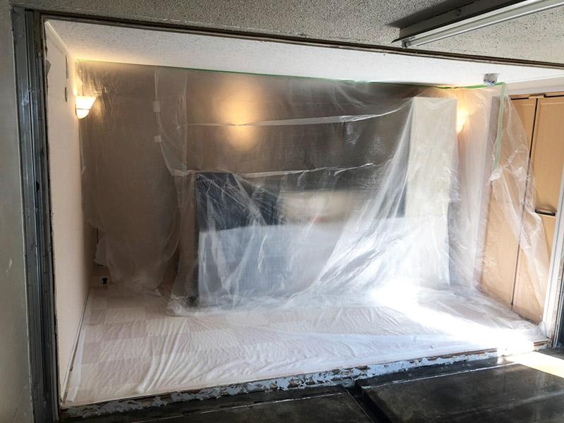 防音室解体施工後2