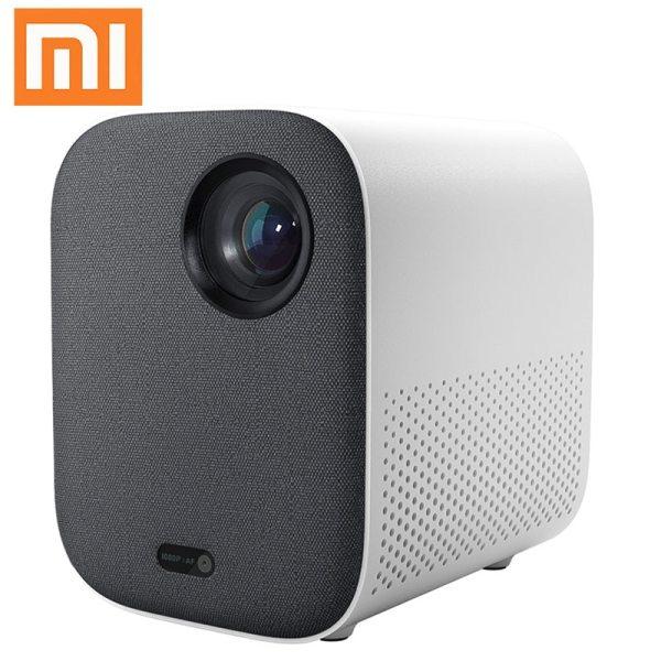 4K Video Xiaomi Mijia DLP Projector 1080P Full HD AI Voice Remote Control 2GB DDR3 8GB eMMC 2.4G / 5G WiFi 3D BT for Home Cinema 2