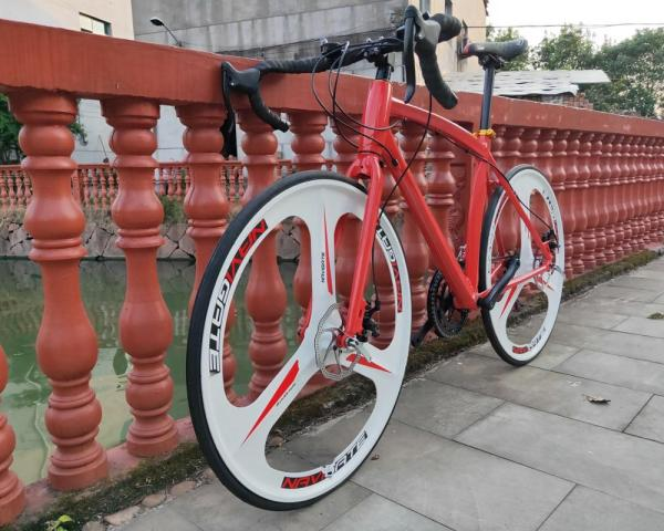 24speed 700C road bicycle cycling bicicleta road bike man& woman bike Disc brakes 1