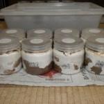 スマトラオオヒラタの本命ライン、菌糸ビンの交換