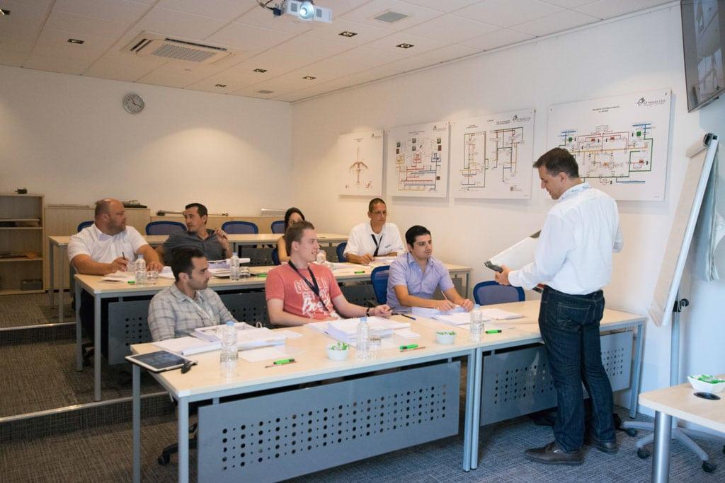 Theoretical Level Ⅲ Type Training at AP-Malta