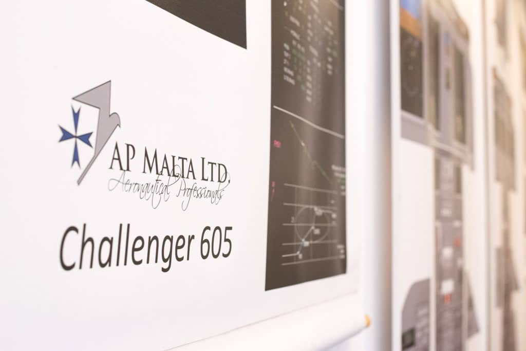 Challenger 604/605 Maintenance Type Training at AP-Malta