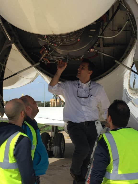 Practical training AP-Malta