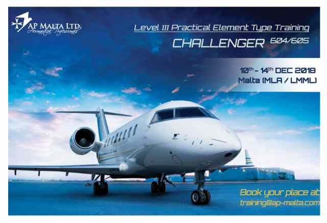 Challenger 604/605 L3 Practical Element