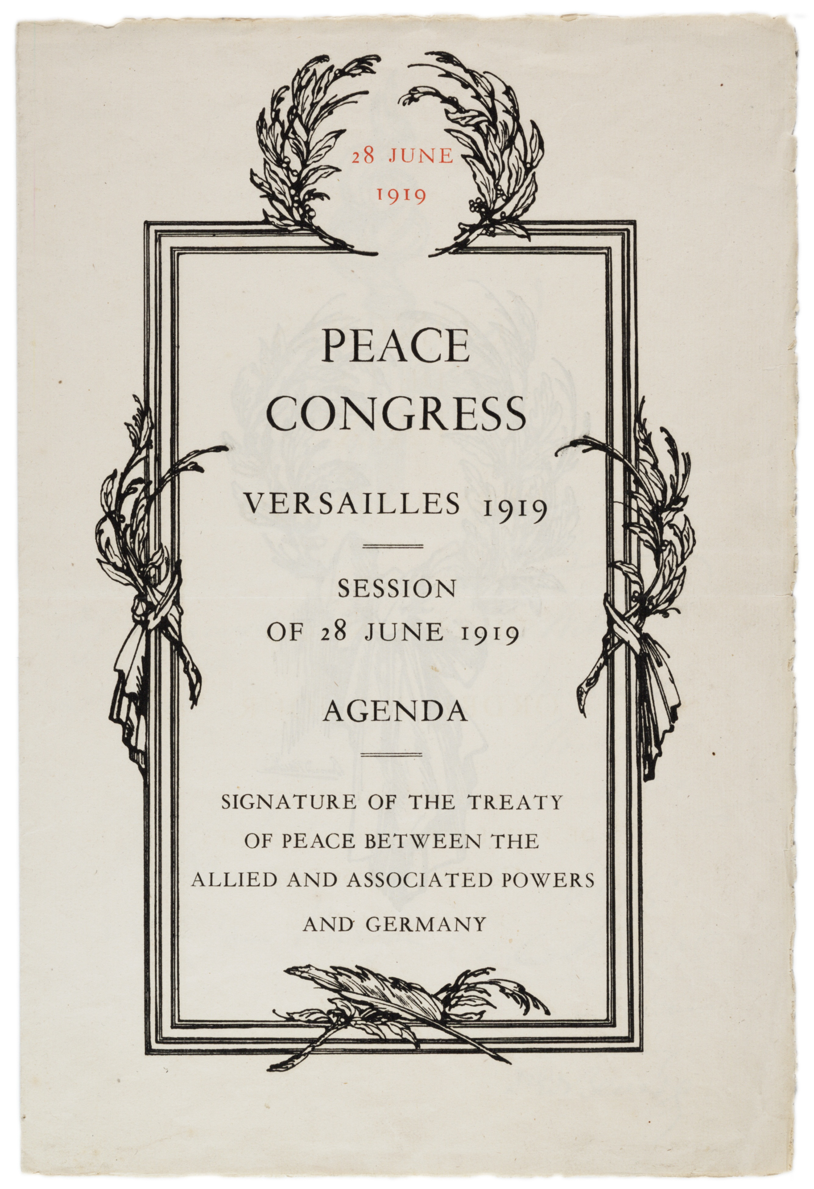 Treaty Of Versailles And President Wilson And