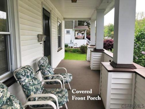 Porch featured at 1135 Agnes Ave, Johnstown, PA 15905