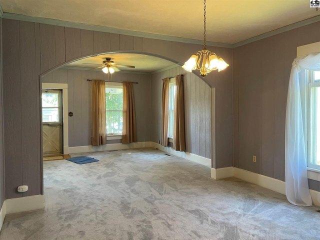 Bedroom featured at 115 S Taylor St, Pratt, KS 67124