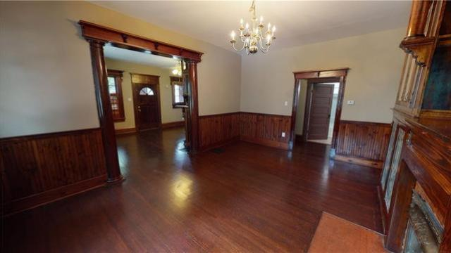Dining room featured at 1044 W Main St, Decatur, IL 62522