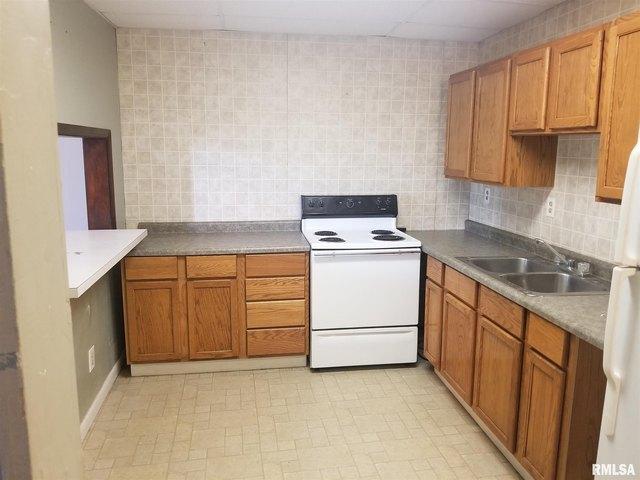 Kitchen featured at 149 E Jackson St, Virden, IL 62690