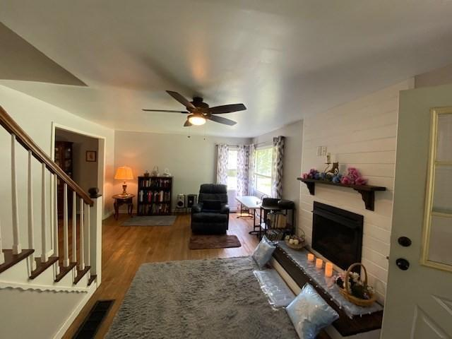 Living room featured at 500 Long Fork Rd, Kimper, KY 41539