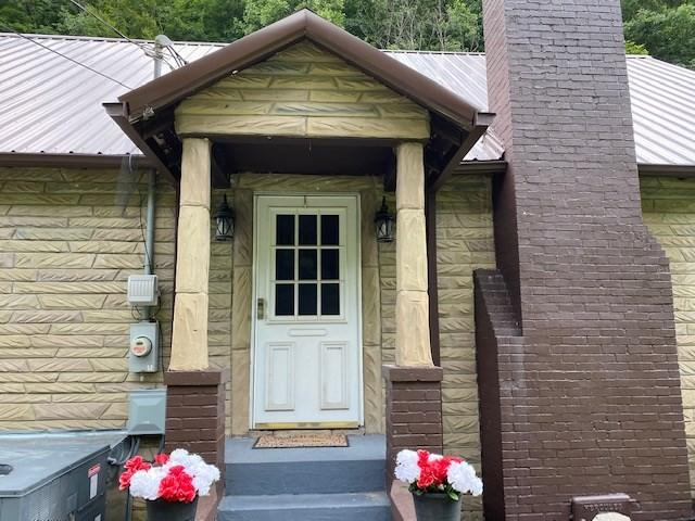 Porch featured at 500 Long Fork Rd, Kimper, KY 41539