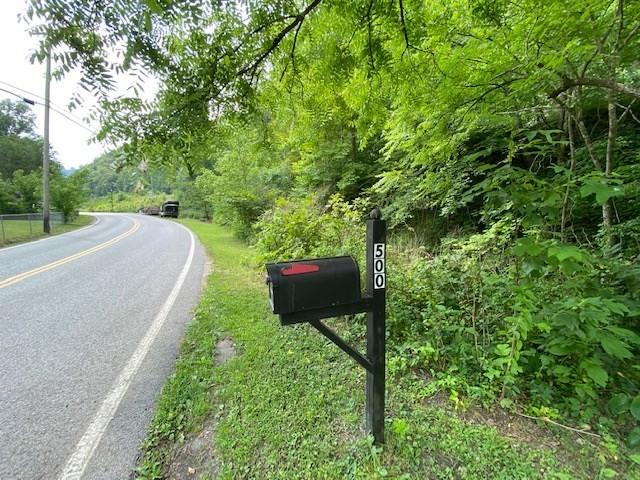Road view featured at 500 Long Fork Rd, Kimper, KY 41539