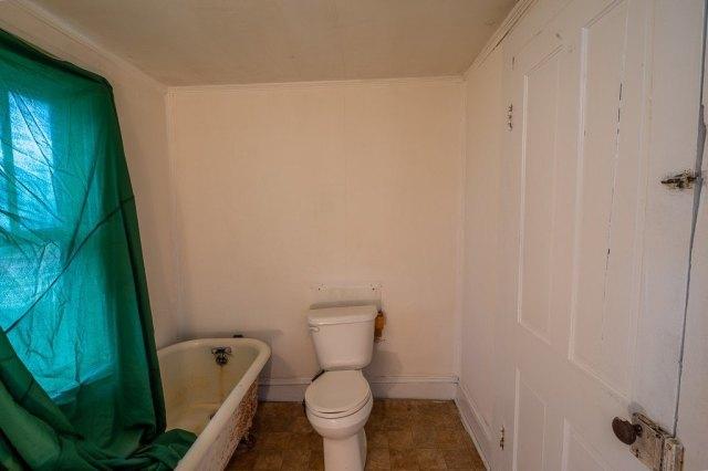 Bathroom featured at 119 Church St, Kenbridge, VA 23944
