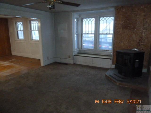 Living room featured at 209 Orchard St, Hysham, MT 59038