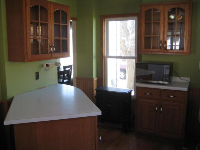 Kitchen featured at 315 E Chicago St, Bagley, WI 53801