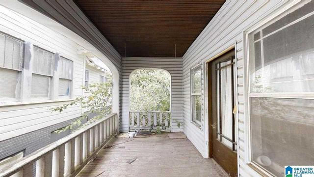 Porch featured at 1523 Berkley Ave, Bessemer, AL 35020