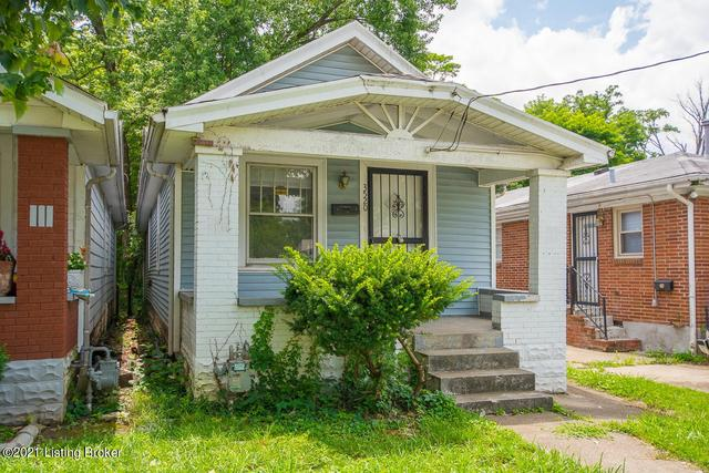 Porch yard featured at 3520 Herman St, Louisville, KY 40212