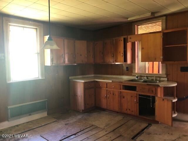 Kitchen featured at 2325 Slacks Run Rd, Trout Run, PA 17771