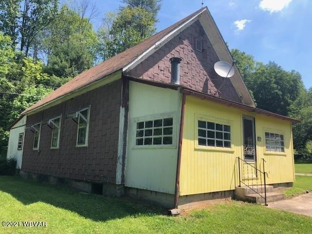 House view featured at 2325 Slacks Run Rd, Trout Run, PA 17771