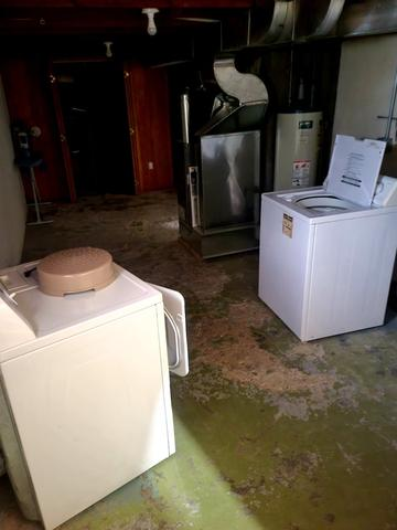 Laundry room featured at 313 S Logan Ave, Terry, MT 59349