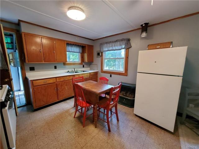Kitchen featured at 50 Morningside Dr, Arcade, NY 14009