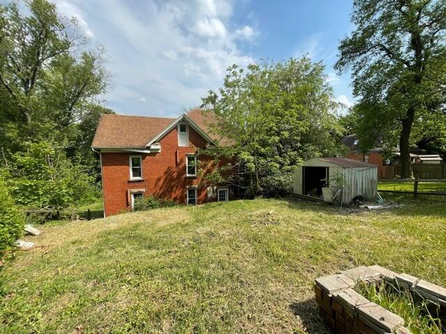 Yard featured at 99 S Pickering St, Brookville, PA 15825