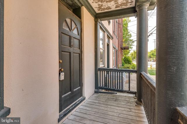 Porch featured at 219 W Burke St, Martinsburg, WV 25401