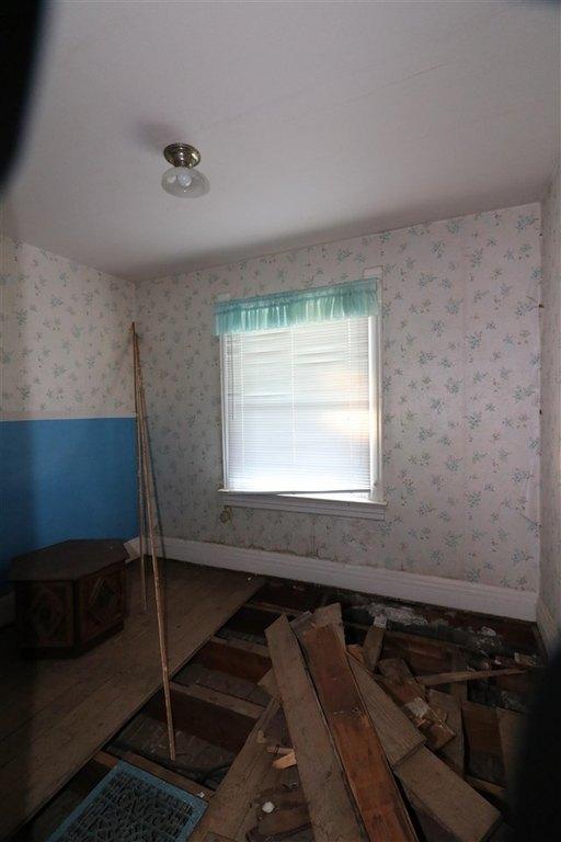 Bathroom featured at 101 E High St, Linn Grove, IA 51033
