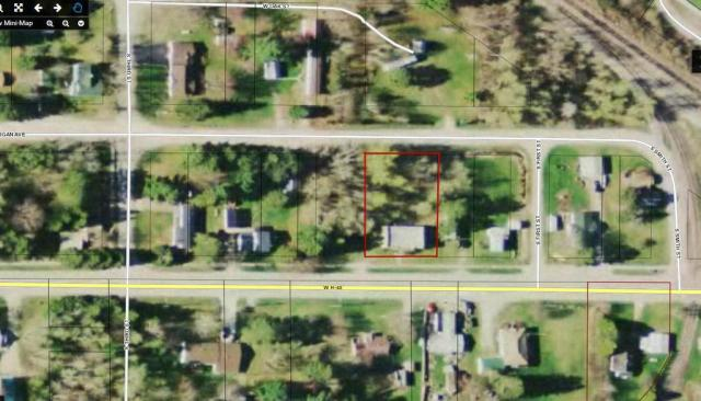 Road view featured at 31730 W H 40, Trout Lake, MI 49793