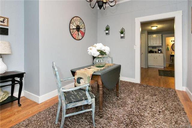 Dining room featured at 350 S Cedar St, Marengo, IN 47140