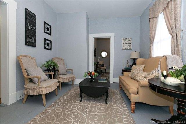 Living room featured at 350 S Cedar St, Marengo, IN 47140